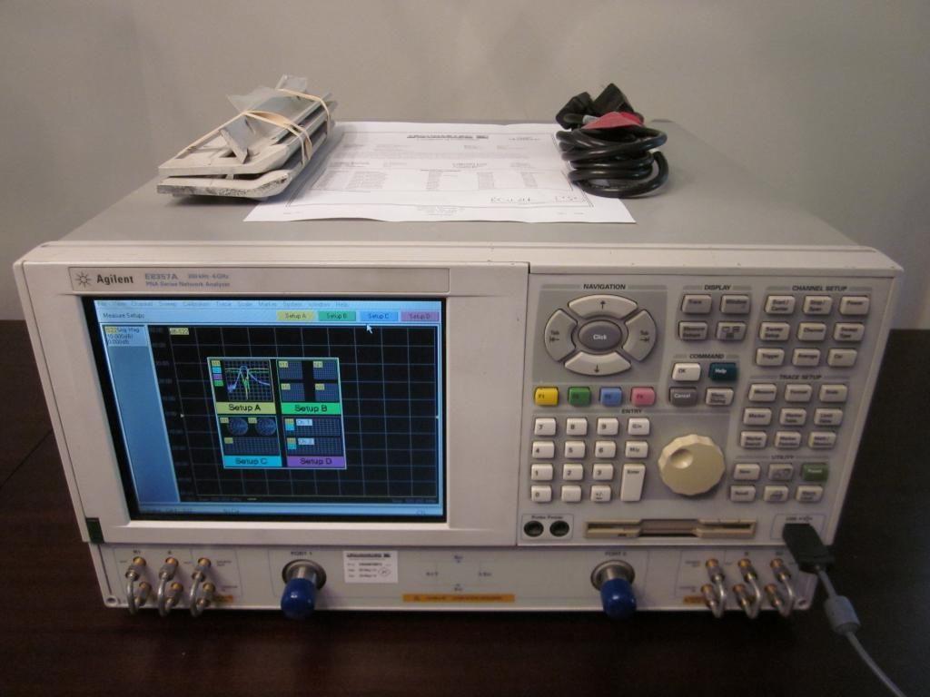 Electrical Network Analyzer : Agilent pna e a khz ghz port reciever rf