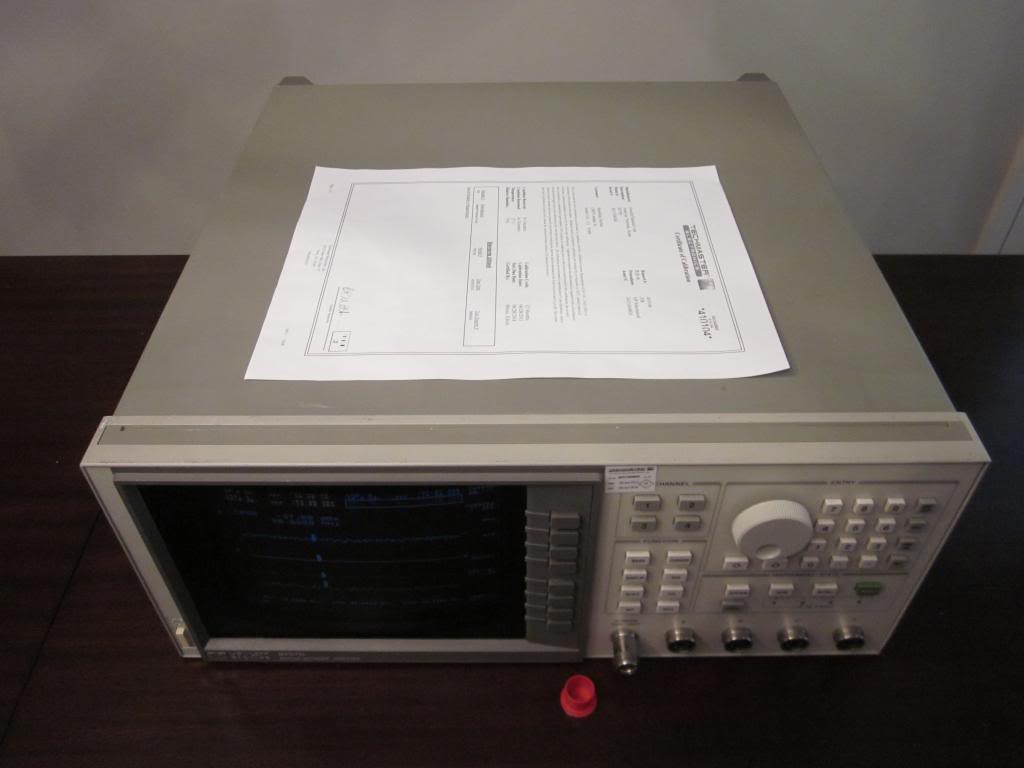 Electrical Network Analyzer : Hp agilent d ghz scalar network analyzer w options